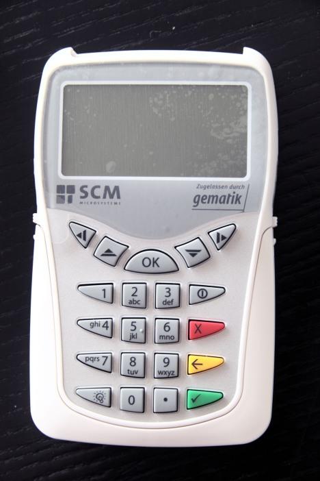 SCM eHealth 500 Vorderseite