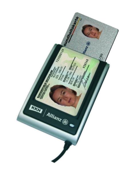 Kombinierter Kartenleser für eGK und ePA
